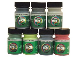 Modelflex MIDWEST RAILROADS COLOR SET #1
