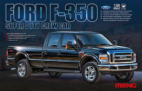 Meng Ford F-350 Plastic Model Truck Kit 1/24 Scale #cs001