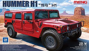 Meng Hummer H1 SUV Plastic Model Truck Kit 1/24 Scale #cs2
