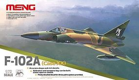 Meng F102A (Case XX) Supersonic Interceptor Plastic Model Airplane Kit 1/72 Scale #ds5