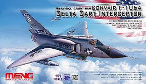 Meng Convair F106A Delta Dart Interceptor Plastic Model Airplane Kit 1/72 Scale #ds6