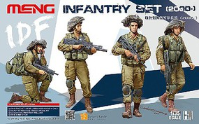 Meng 1/35 IDF Infantry Figure Set (4)