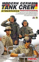 Meng 1/35 Modern German Tank Crew Figure Set (4)