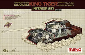 Meng King Tiger Interior Set 1-35