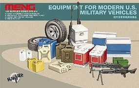 Meng Equipment for Modern US Military Vehicles Plastic Model Vehicle Accessory 1/35 Scale #sps14