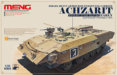 Meng Israel Achzrit Plastic Model Military Vehicle Kit 1/35 Scale #ss003