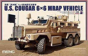 Meng MRAP Cougar 6x6 Plastic Model Military Vehicle Kit 1/35 Scale #ss005