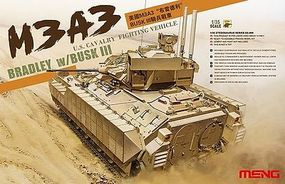 Meng M3A3 Bradley with Busk III Plastic Model Military Vehicle Kit 1/35 Scale #ss006