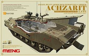 Meng Israeli Achzarit Late Plastic Model Military Vehicle Kit 1/35 Scale #ss008