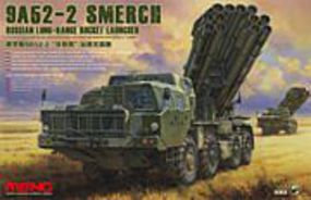 Meng 9A52-2 Smerch Rocket Launch Plastic Model Military Vehicle Kit 1/35 Scale #ss009