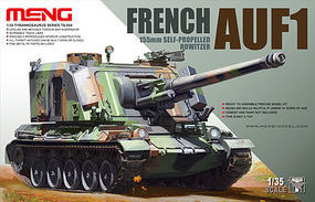 Meng French AUF1 155mm Howitzer Plastic Model Military Vehicle Kit 1/35 Scale #ts004