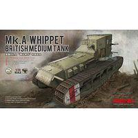 Meng Mk.A Whippet Medium Tank Plastic Model Military Vehicle Kit 1/35 Scale #ts021