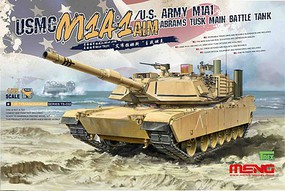 Meng Usmc M1A1 Abrams Tusk MBT Plastic Model Military Vehicle Kit 1/35 Scale #ts032