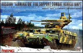 Meng Russian Terminator Fire Support Combat Vehicle BMPT Plastic Model Kit 1/35 Scale #ts10