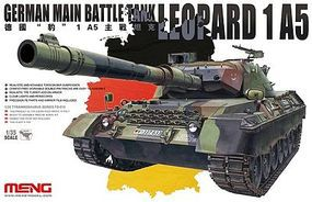 Meng Leopard 1A5 German Main Battle Tank Plastic Model Military Vehicle Kit 1/35 Scale #ts15