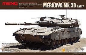 Meng Merkava Mk IIID (Early) Israeli MBT Plastic Model Tank Kit 1/35 Scale #ts1