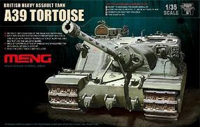 Meng A39 Tortoise British Heavy Assault Tank Plastic Model Tank Kit 1/35 Scale #ts2