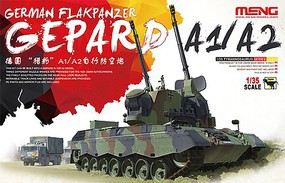 Meng Gepard A1/A2 German Flakpanzer Plastic Model Military Vehicle Kit 1/35 Scale #ts30