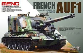 Meng French AUF1 155mm Self-Propelled Howitzer (New Tool) Plastic Model Tank Kit 1/35 #ts4