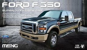 Meng Ford F-350 Super Crew Cab Plastic Model Truck Kit 1/35 Scale #vs006