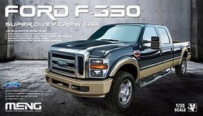 Meng Ford F350 Super Duty Crew Cab Plastic Model Truck Kit 1/35 Scale #kvs6