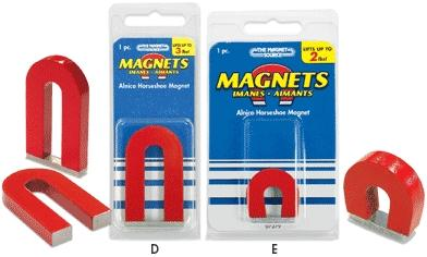 The Magnet Source 2'' Alnico Horseshoe Magnet
