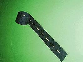 Mini-Hwy Straight Passing Zone Yellow Dashed Line 9' Model Railroad Road Accessory N Scale #101