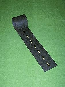 Mini Highways Straight Passing Zone 9' -- Model Railroad Road Accessory -- HO Scale -- #201