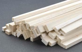 Midwest Balsa & Basswood Strips