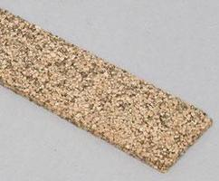 Midwest (bulk of 25) Cork Roadbed 3' (25) Model Train Track Roadbed N Scale #3019