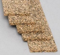 Midwest Cork Roadbed - 3' Sections pkg(5) - Model Train Track Roadbed -- N Scale -- #3021