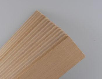 Midwest Basswood Sheets (1/8x2x24) (15) Hobby and Craft Building Supplies #4113