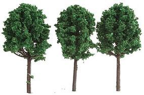 Midwest Deciduous Trees Summer Model Railroad Scenery #7325