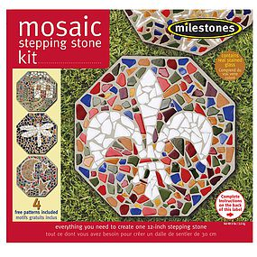 Midwest Milestones Mosaic Stepping Stone Kit