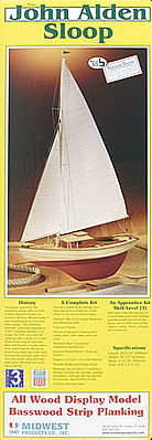 Midwest John Alden Sloop Sailboat Kit
