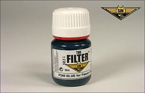 MIG Enamel Blue Filter for Panzer Grey 35ml Bottle