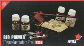 MIG Red Primer Vehicle Transformation Set