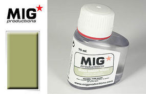 MIG Enamel Moss Green Wash 75ml Bottle