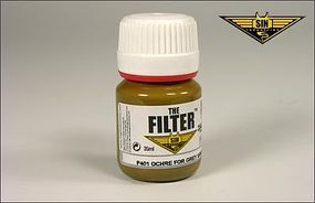 MIG Enamel Ochre Filter for Grey Sand 35ml Bottle