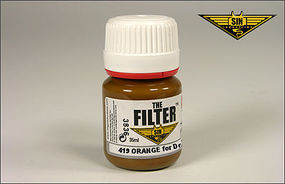 MIG Enamel Orange Filter for Desert Camo 35ml Bottle