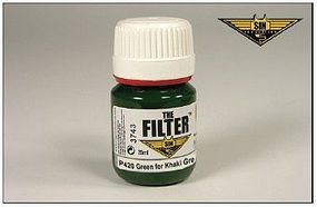 MIG Enamel Green Filter for Khaki Green 35ml Bottle