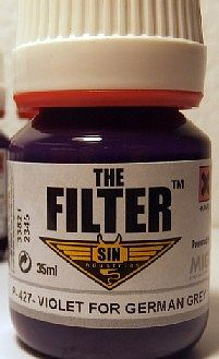 MIG Productions Enamel Violet Filter for German Grey 35ml Bottle