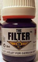 MIG Enamel Violet Filter for German Grey 35ml Bottle
