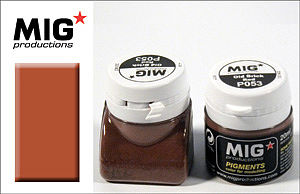 MIG Productions Weathering Pigment Old Brick Red 20ml Bottle