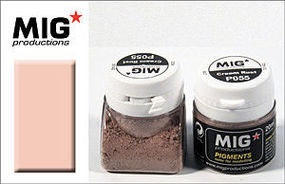 MIG Weathering Pigment Cream Rust 20ml Bottle