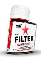 MIG Enamel Subtle Dirt Filter 35ml Bottle