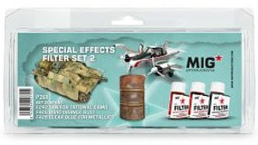 MIG Enamel Special Effects Filter Set #2 (3) 35ml Bottles