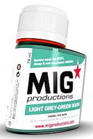 MIG Enamel Light Grey-Green Wash 75ml Bottle