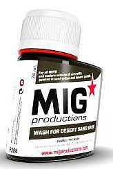 MIG Enamel Wash for Desert Sand Base 75ml Bottle