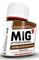 MIG Enamel Accumulated Earth Effect 75ml Bottle (Re-Issue)